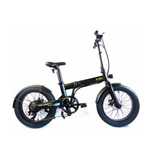E-GO MAX+ Electric Folding Bike