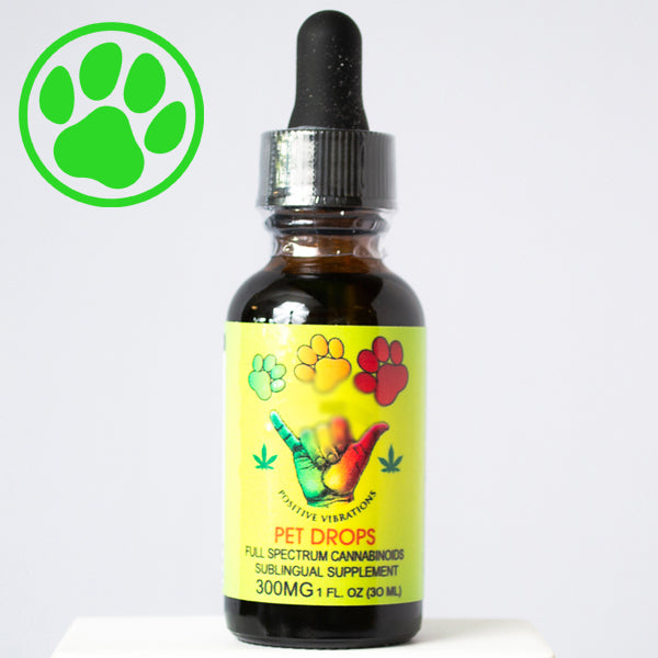 Ganja Mon FULL SPECTRUM CBD Oil 300MG PETS SUPPLEMENT