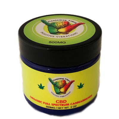 Ganja Mon Full Spectrum CBD RELIEF BALM 500MG
