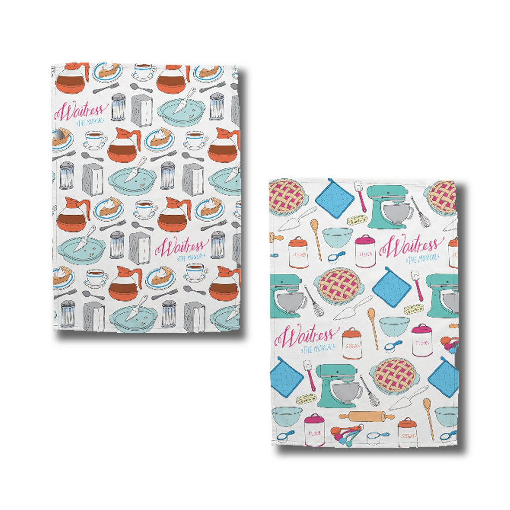 WAITRESS Tea Towel Set
