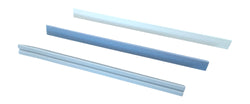 "7"" Triangular Blue Medium Grit Replacement Rod"