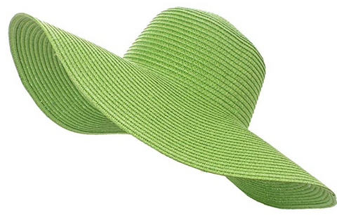 Floppy Straw Hat (6 color options)