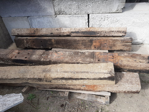 Creosoted Pine Sleepers 2.1m
