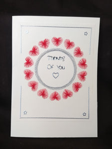 Hand Crafted Cards - Love