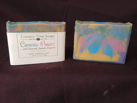 Cosmic Power Artisan Soap