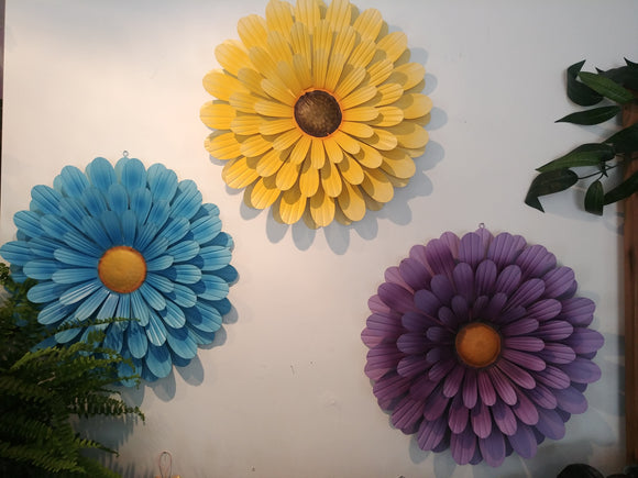 Daisy Wall Art - Metal