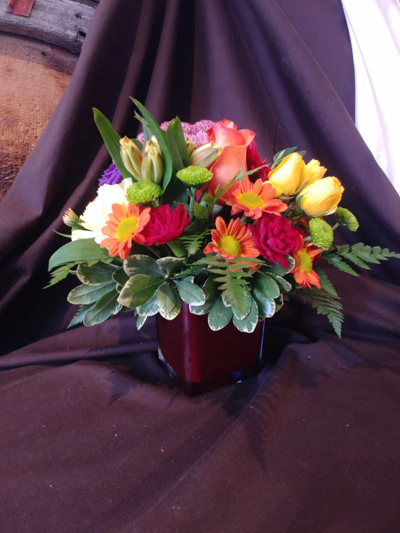 Fall Brilliance Centerpieces