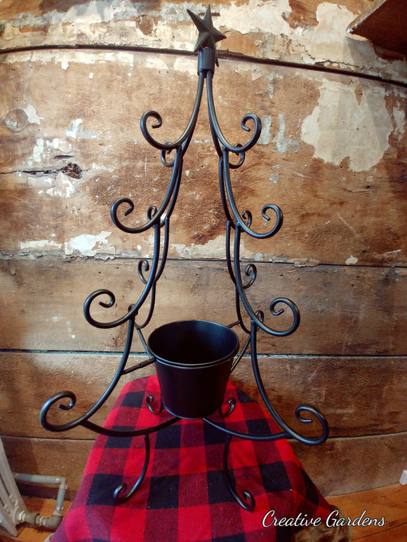 Scroll Christmas Tree Stand