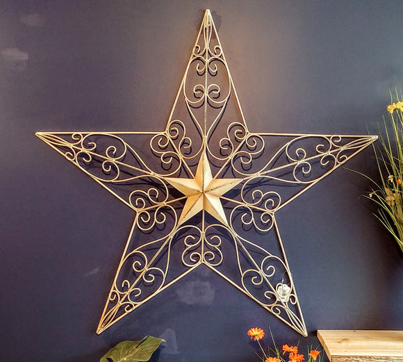 Ornate Metal Stars