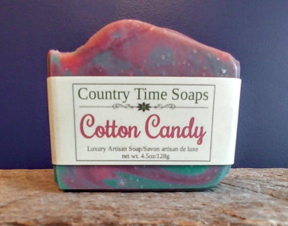 Cotton Candy Artisan Soap