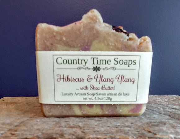 Hibiscus and Ylang Ylang Artisan Soap