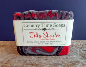 Fifty Shades Artisan Soap