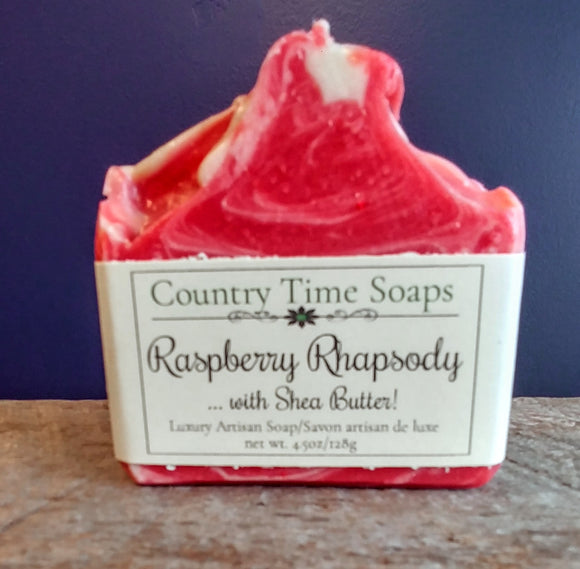 Raspberry Rhapsody Artisan Soap