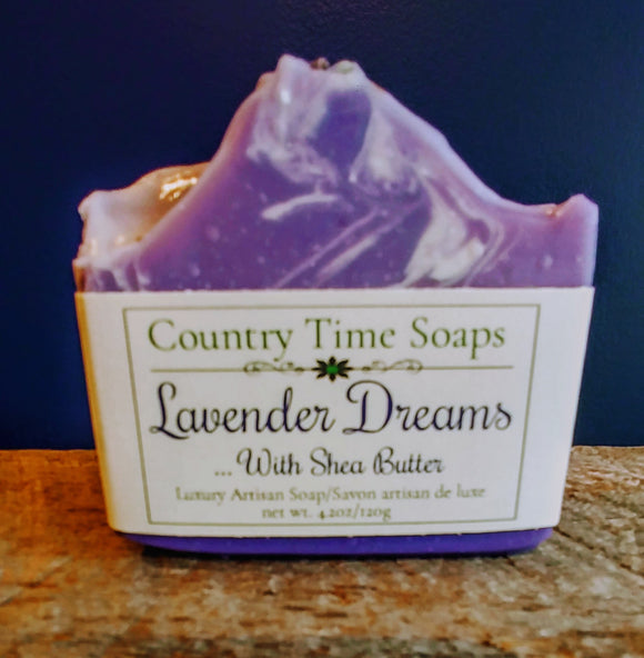 Lavender Dreams Artisan Soap