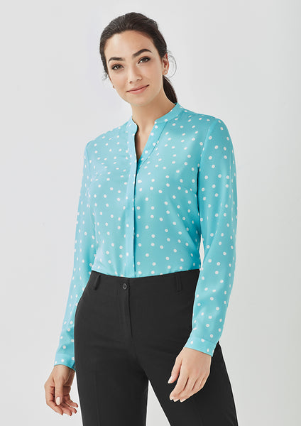 Juliette Spot Blouse - Assorted Colours