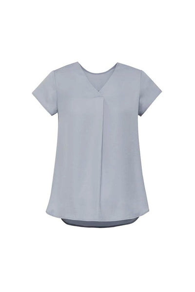 Kayla Pleat Blouse - Assorted Colours