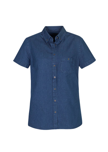 Indie Denim Short Sleeve Shirt - Assorted Colours