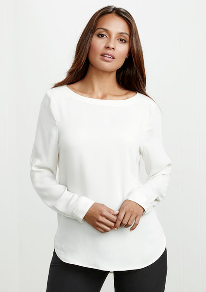 Madison Boat Neck Blouse - Assorted Colours