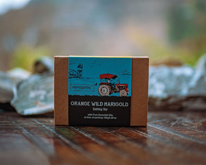 Handmade Soap Orange Wild Marigold