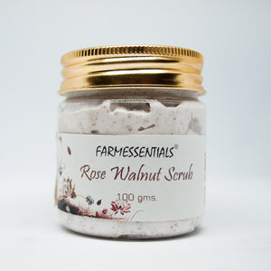Rose Walnut Scrub