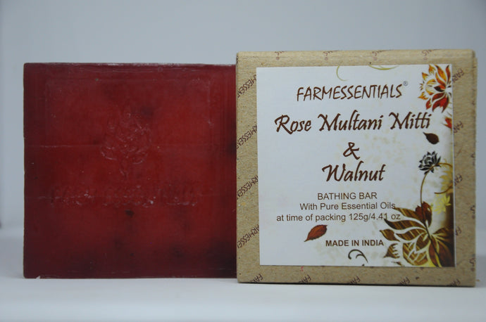 Rose Multani Mitti & Walnut