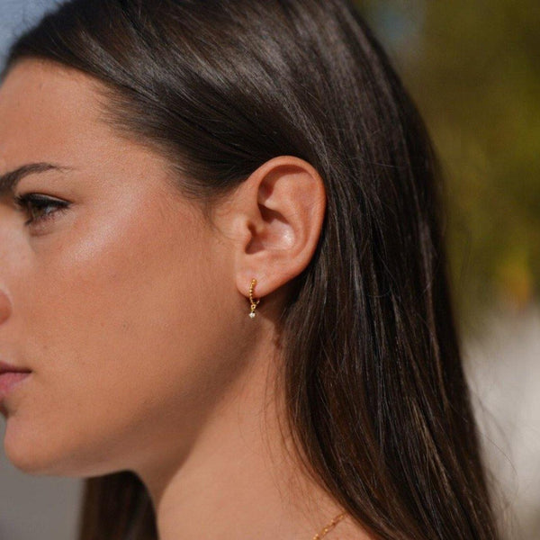 Boucles d'oreilles Diamantine - ASEEL Paris