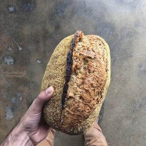 Jewish Rye Loaf - Sourdough