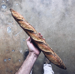 Seeded Baguette - Sourdough
