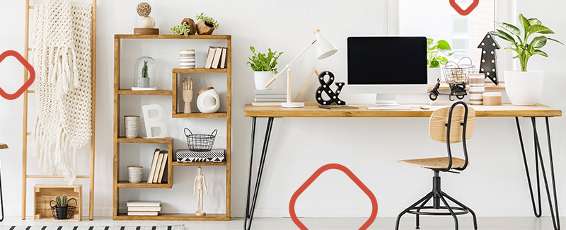 6 Home Office Organization Ideas | Boost Your Productivity At Home