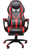 Qwork EClife black and red gaming chair