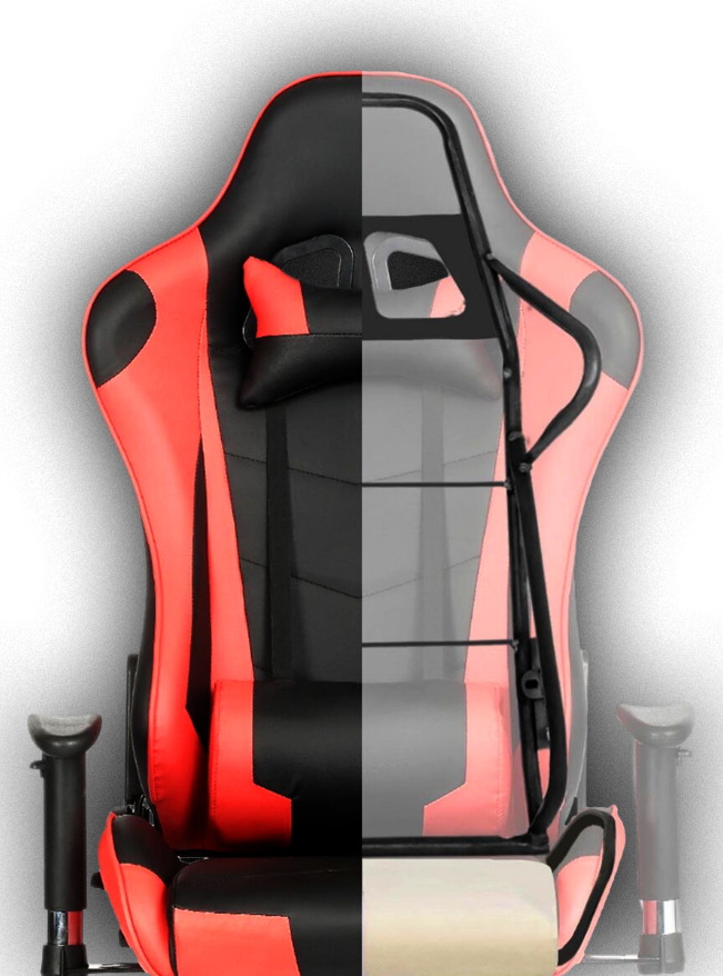 red galex gaming chair