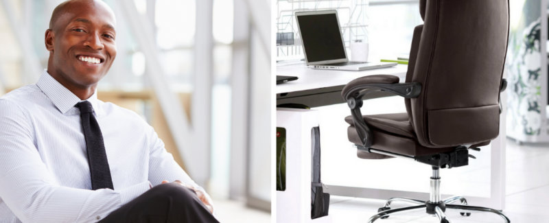 Leather office chair vs mesh office chair