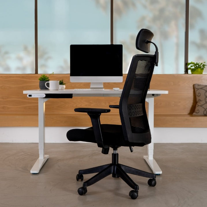 Lex Ergonomic High Back Task Chair - Qwork Office Furniture