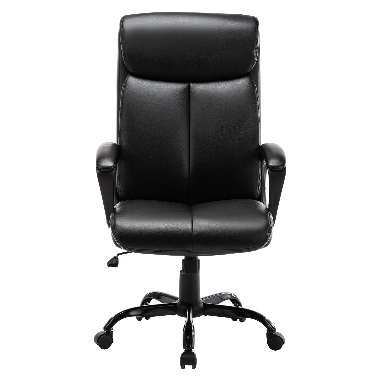 Wess Executive Bonded Leather Chair - Qwork Office Furniture