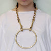 big ring necklace (long)