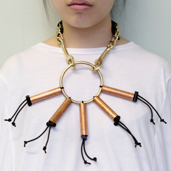 mixed metal necklace (s)