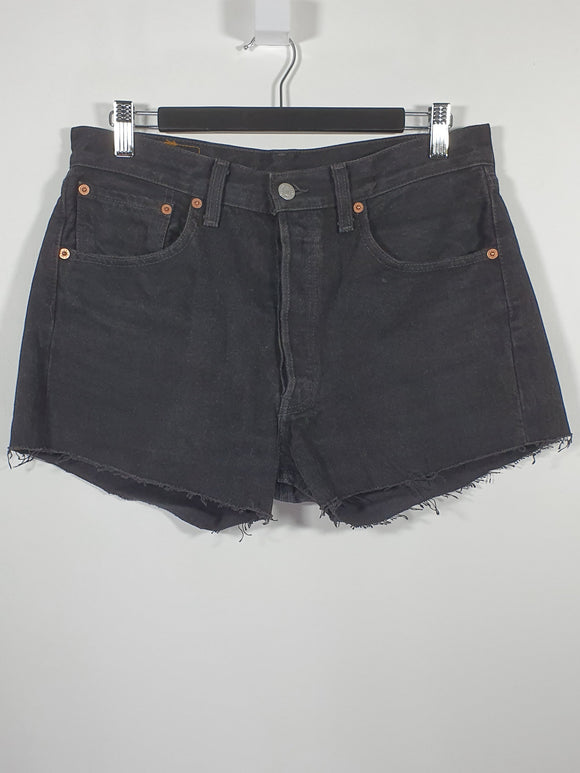 Dark Denim Shorts - Levis