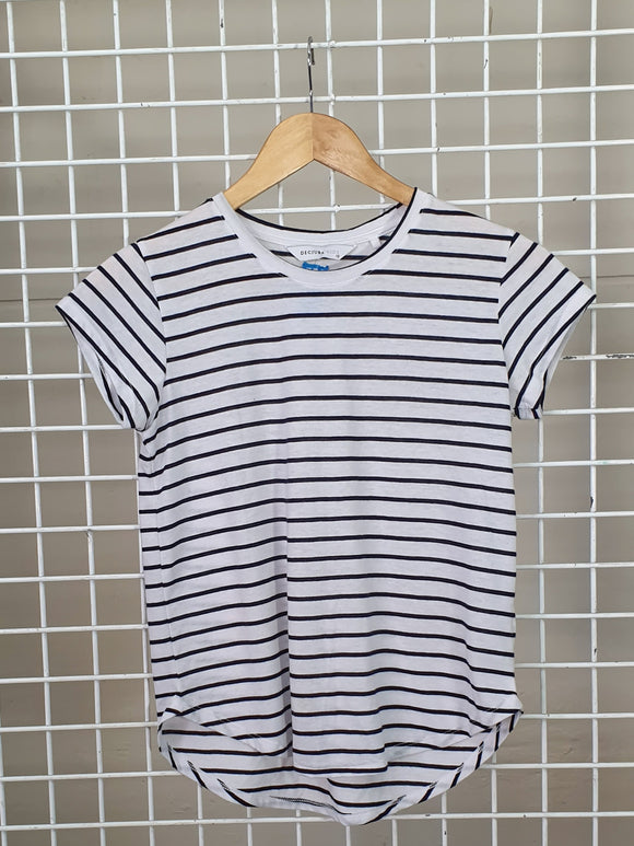 Stripe Girls Tee - Decjuba