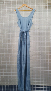 Maxi Denim Jumpsuit