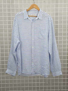 Striped Linen Shirt - Country Road