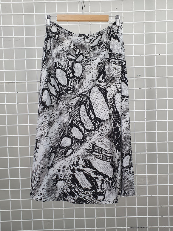 Snake Print Skirt - Don't Ask Amanda