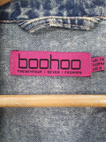 Denim Jacket - Boohoo