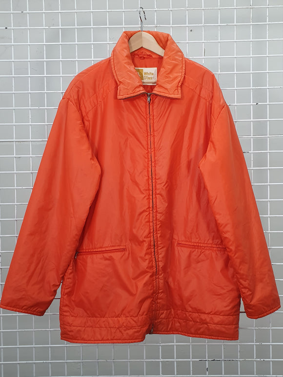 Orange Ski Jacket - White Stag