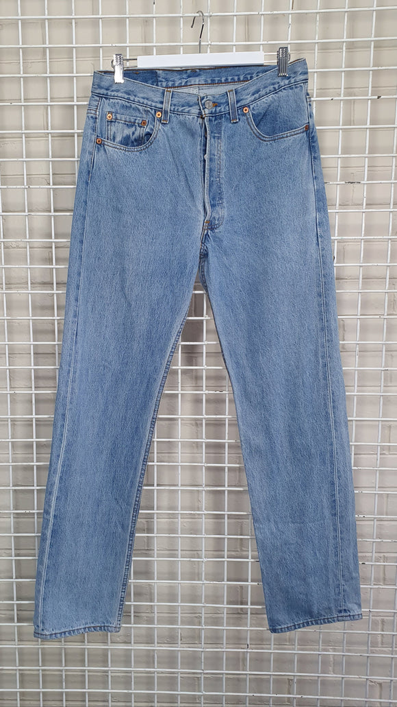 501 Light Blue Jeans - Levis