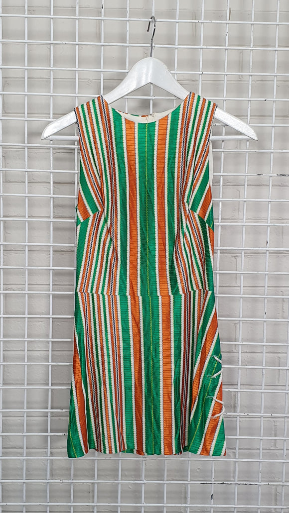 Vintage Stripe Shift Dress - Jaki K