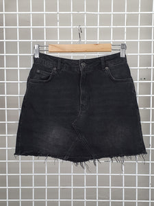 Denim Skirt - Top Shop Moto