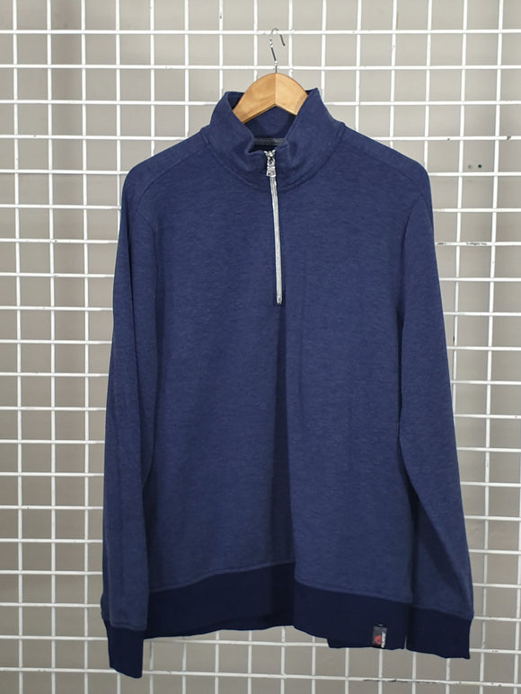Navy Sweat Top - Banana Republic with Polatech