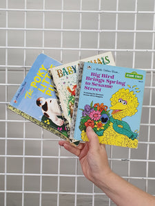 Golden Books - set of 3