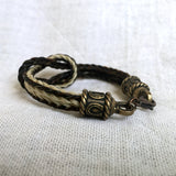 Horse Hair Bracelet with Infinity Knot
