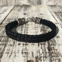Custom Handmade Horse Hair Bracelet Made from Your Horse's Hair
